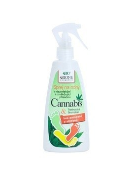 Bione Cosmetics Cannabis spray do nóg 260 ml
