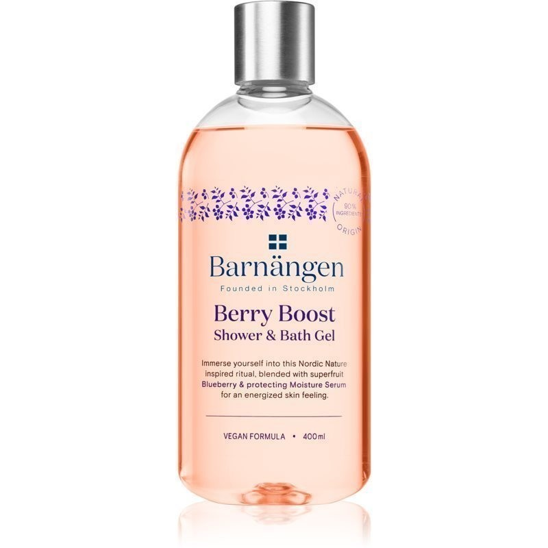 Barnängen Berry Boost żel do kąpieli i pod prysznic 400 ml