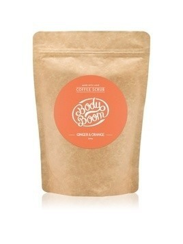 BodyBoom Ginger & Orange kawowy peeling do ciała 200 g