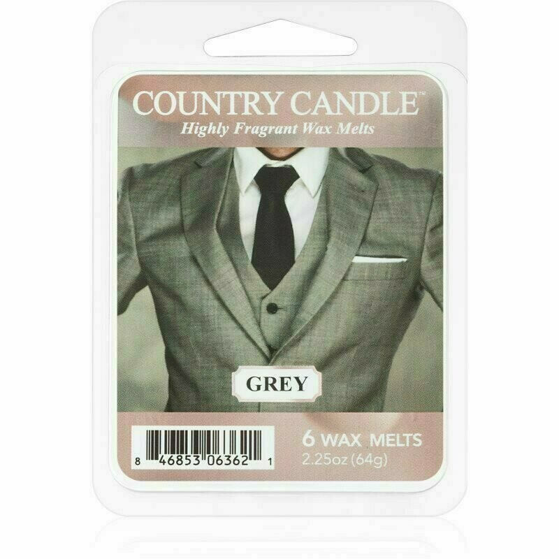 Country Candle Grey wosk zapachowy 64 g