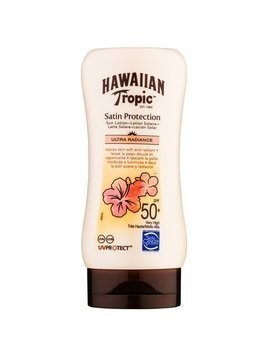 Hawaiian Tropic Satin Protection mleczko do opalania SPF 50+ 180 ml