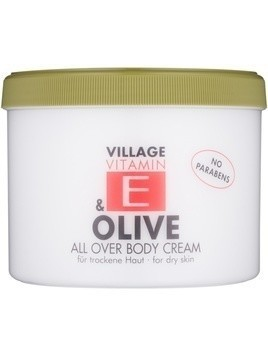 Village Vitamin E Olive krem do ciała bez parabenów 500 ml