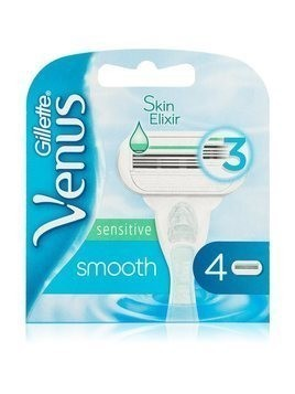 Gillette Venus Sensitive Smooth zapasowe ostrza 4 szt.