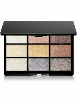 Gosh 9 Shades Palette paleta cieni do powiek z lusterkiem odcień 005 To party in London 12 g