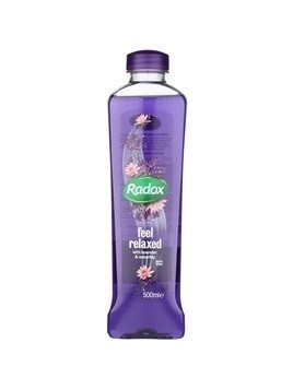 Radox Feel Restored Feel Relaxed piana do kąpieli Lavender & Waterlilly 500 ml