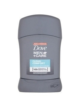 Dove Men+Care Clean Comfort antyperspirant w sztyfcie 48 godz. 50 ml