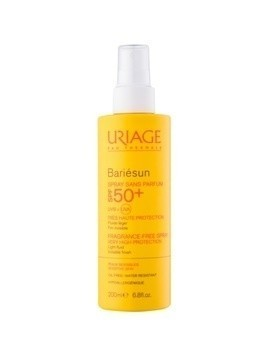 Uriage Bariésun spray do opalania bez substancji zapachowych SPF 50+ 200 ml