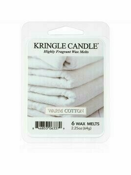 Kringle Candle Warm Cotton wosk zapachowy 64 g