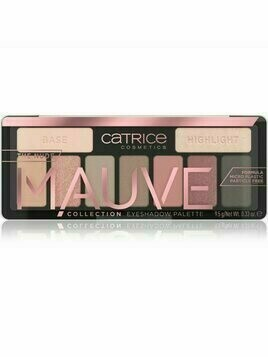 Catrice The Nude Mauve Collection paleta cieni do powiek odcień 010 GLORIOUS ROSE 10.6 g