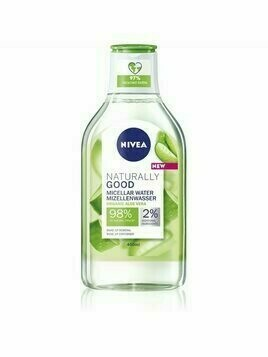 Nivea Naturally Good woda micelarna z aloesem 400 ml