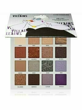 Catrice Disney Villains Ursula paleta cieni do powiek odcień 01 Poor Unfortunate Soul 18 g