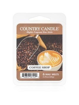 Country Candle Coffee Shop wosk zapachowy 64 g
