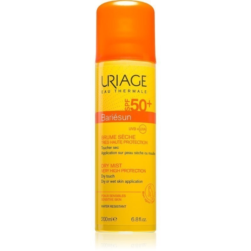 Uriage Bariésun mgiełka do opalania w sprayu SPF 50+ 200 ml