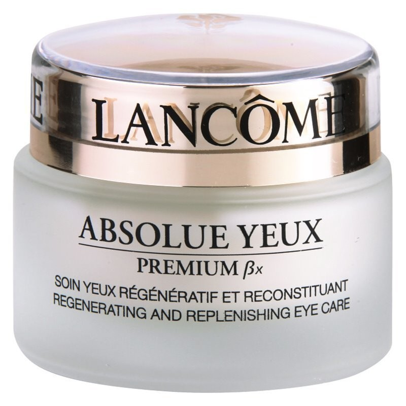 Lancôme Absolue Premium ßx ujędrniający krem pod oczy (Regenerating and Replenishing Eye Care) 20 ml