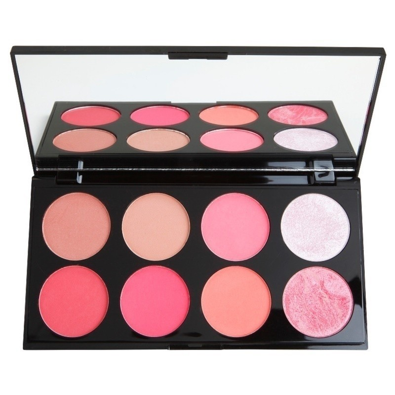 Makeup Revolution Ultra Blush paleta róży odcień Sugar and Spice 13 g
