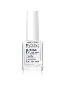 Eveline Cosmetics Total Action odżywczy lakier do paznokci 8 w 1 12 ml