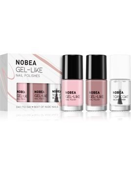 NOBEA Day-to-Day zestaw lakierów do paznokci Best of Nude Nails