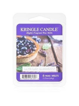 Kringle Candle Lavender Blueberry wosk zapachowy 64 g