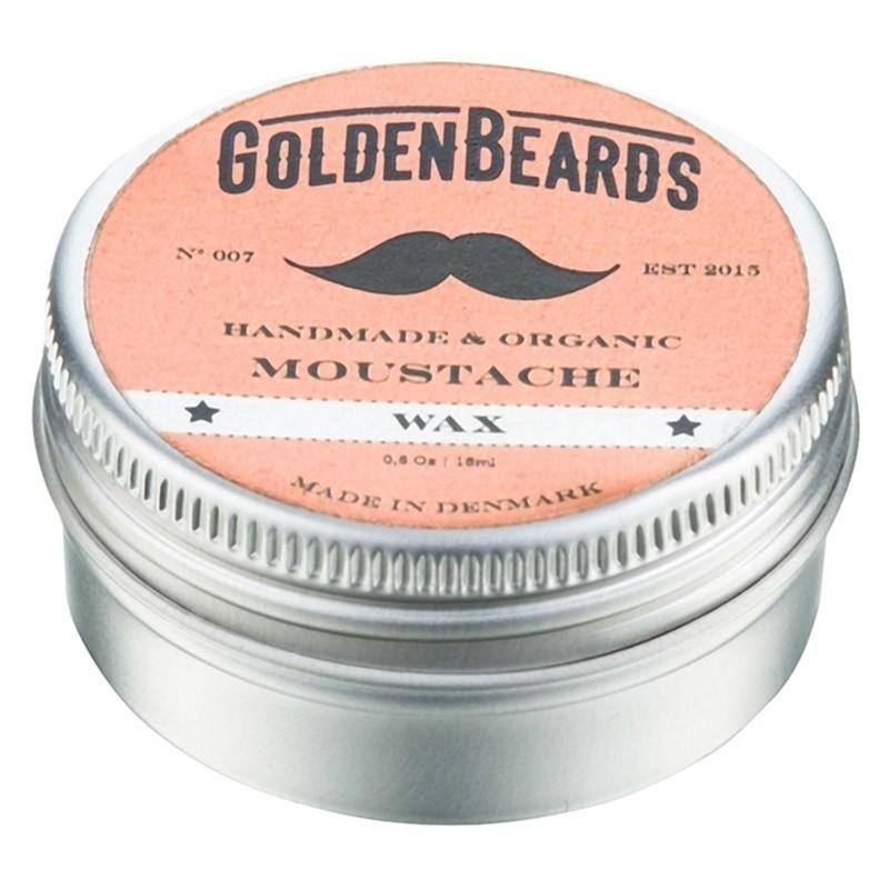 Golden Beards Moustache wosk do wąsów 15 ml