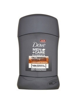 Dove Men+Care Elements antyperspirant w sztyfcie 48 godz. Talc Mineral + Sandalwood 50 ml