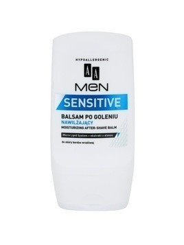 AA Cosmetics Men Sensitive nawilżający balsam po goleniu 100 ml