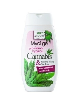 Bione Cosmetics Cannabis żel do higieny intymnej 260 ml