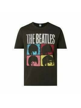 T-shirt z nadrukiem 'The Beatles'