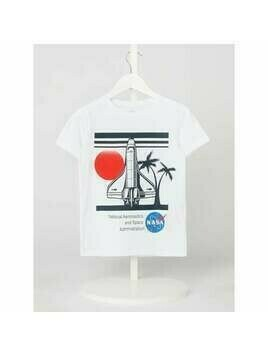 T-shirt z nadrukiem model 'Nasa'