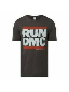 T-shirt z nadrukiem 'Run-D.M.C.'