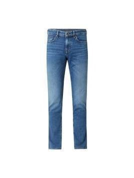 Jeansy o kroju regular fit z dodatkiem streczu model 'Mitch'
