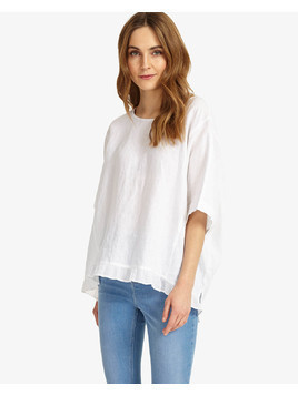 Phase Eight Rita Ruffle Hem Blouse