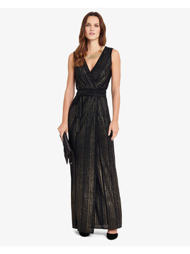 Phase Eight Stripe Wrap Maxi Dress
