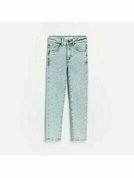 Reserved - Jeansy skinny fit - Granatowy