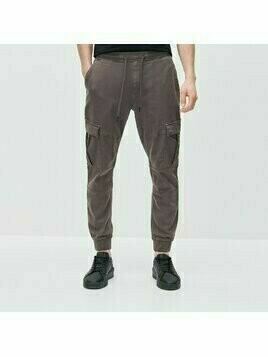 Reserved - Joggery cargo slim fit - Szary