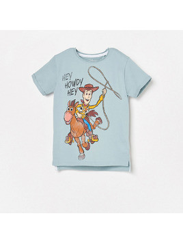 Reserved - T-shirt Toy Story - Niebieski