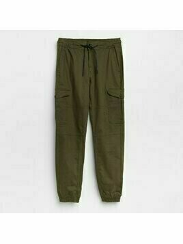 Reserved - Joggery cargo slim fit - Khaki