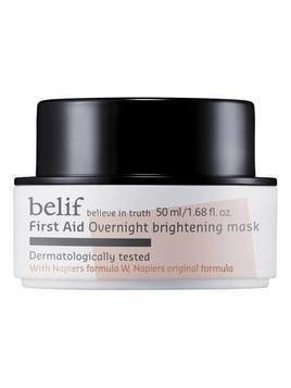 FIRST AID OVERNIGHT BRIGHTENING MASK - Masque de nuit éclat