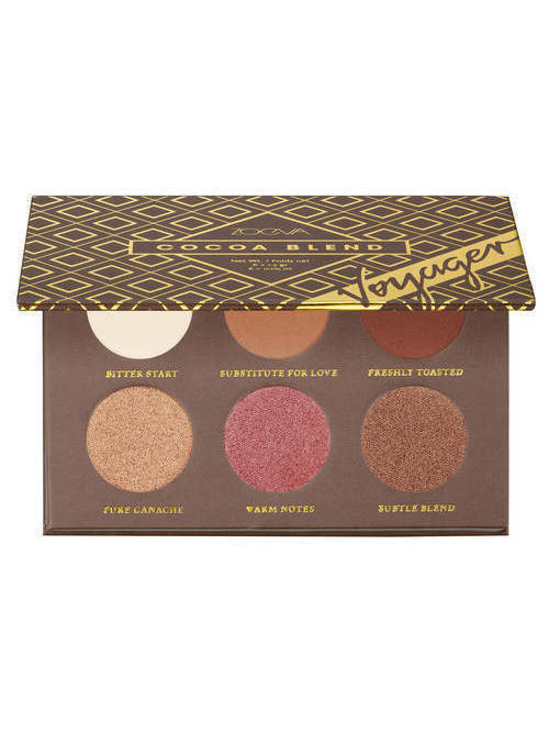 Voyager Cocoa Blend Eyeshadow Palette - Mini Paleta cieni do powiek