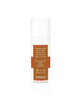 Super Soin Solaire - Silky Body Oil Sun Care SPF