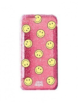 Etui iPhone 6/6s Smiley Pink