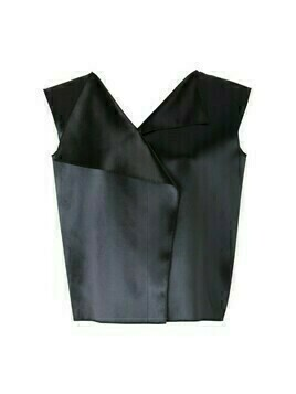 Satin Sleeveless Top