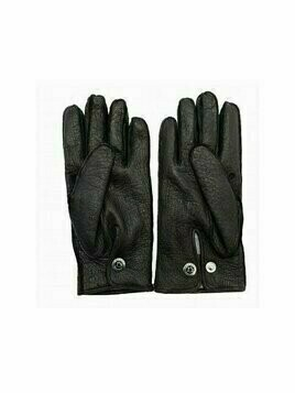 Gloves Peccary Leather Cashmere Lined