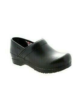 Black Sanita Clog With Cap 1500006M