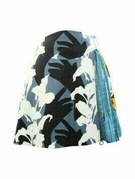 Printed Wool Skirt