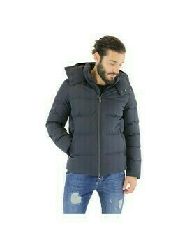 Jacket with down and feather padding