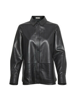 Patricia Leather Shirt