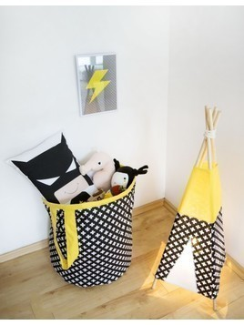 Lampka tipi black and yellow