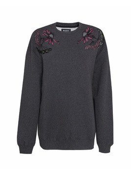 Bluza MARKUS LUPFER ARCTIC FLOWER EMBROIDERED