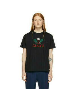 Gucci Black Tennis T-Shirt
