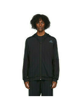 adidas Originals Black Aeroready 3-Stripes Hoodie